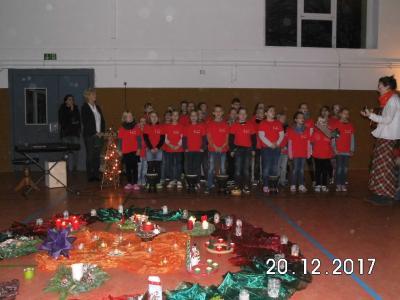Foto zur Meldung: Weihnachtssingen