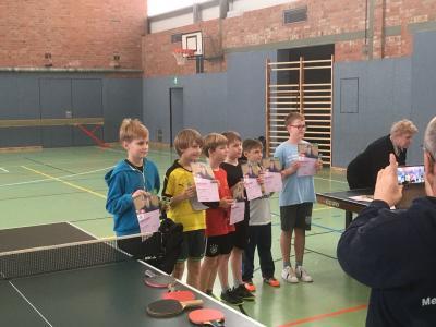 Foto zur Meldung: Tischtennisturnier in Schwerin