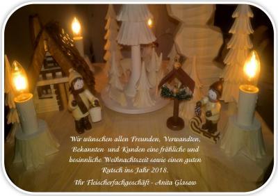 Foto zur Meldung: Weihnachtsgrüße - Anita Glasow