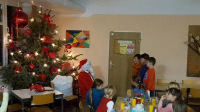 Foto zur Meldung: Weihnachtsfeier der Klasse 3