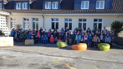 Vorschaubild zur Meldung: Schulhofgestaltung Holzen