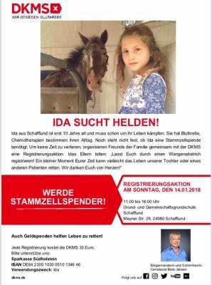 Foto zur Meldung: Ida sucht Helden