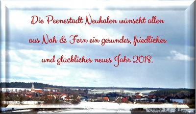 Foto zu Meldung: Neujahrsgrüße 2018