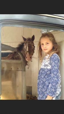 Vorschaubild zur Meldung: Tapfere Ida kämpft gegen den Krebs