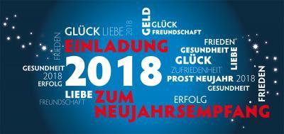 Vorschaubild zur Meldung: Neujahrsempfang 2018