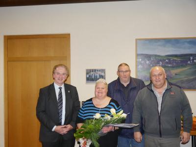 Foto zur Meldung: Verdiente Mitarbeiterin Mechthild Sody in den Ruhestand verabschiedet