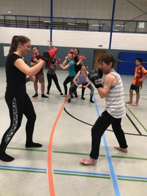 Vorschaubild zur Meldung: Kickboxen im TuS Elsdorf!