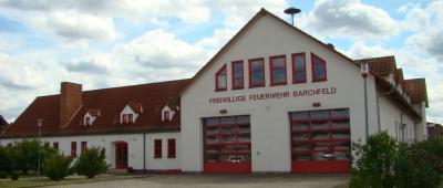Feuerwehrgerätehaus Barchfeld, Foto: privat