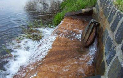 Auslauf der Brunnengalerie am Schwarzbach