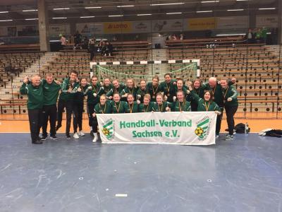 das erfolgreiche Team Sachsen zum Länderpokal 2018