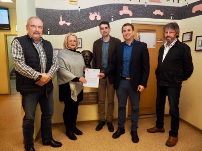 "Foto zu Meldung: ""Digitalisierte Schule"" in Malchin"