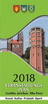 Vorschaubild zur Meldung: Veranstaltungsplan Genthin, Jerichow & Elbe-Parey 2018