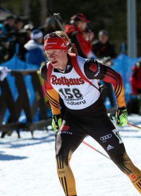 Roman Rees schafft nach Rang vier im Einzelrennen von Ruhpolding die Olympianorm - Foto: Joachim Hahne