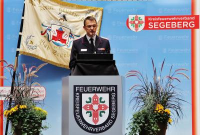 Foto zur Meldung: Überraschung für die Feuerwehren: Kreiswehrführer Holger Gebauer ist zurückgetreten