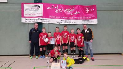 Foto zur Meldung: POLDI CUP D- Junioren