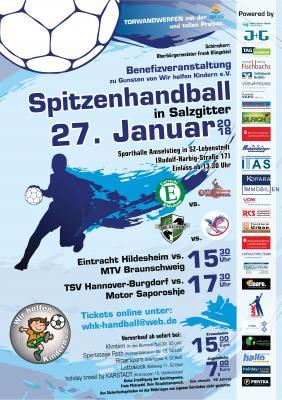 Vorschaubild zur Meldung: Spitzenhandball in Salzgitter