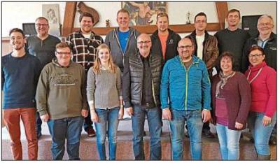 Vorschaubild zur Meldung: Schützengau hat 13 neue Vereinsübungsleiter
