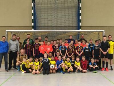 Vorschaubild zur Meldung: Blitzturnier der Jugendmannschaften U11 (Jahrgang 2007) bis U13 (Jahrgang 2005) ein großer Erfolg