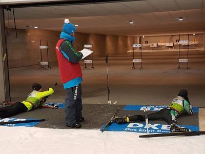 Foto zur Meldung: Ergebnisse Rangliste Biathlon Techniksprint
