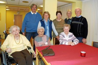 Foto zur Meldung: Treffen unserer ehemaligen Versehrtensportgruppe