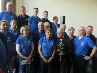 Foto zu Meldung: Sportabzeichen Team erhielt Ehrung
