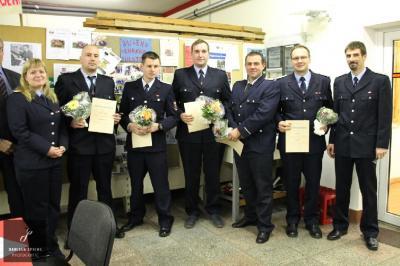 Foto zur Meldung: Jahresabschluss der Feuerwehren im Amtsbereich
