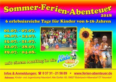 Foto zu Meldung: Sommer-Ferien-Abenteuer für Kinder von 6 bis 16 Jahren