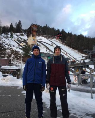Foto zur Meldung: Deutschlandpokal Skispringen