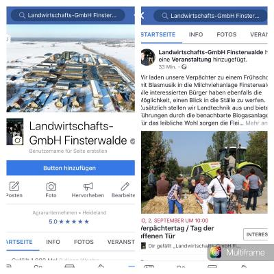 Vorschaubild zur Meldung: Neuigkeiten über Facebook
