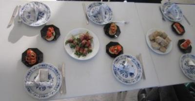 Foto zu Meldung: AG Kochen - Menü kochen