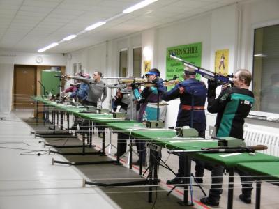 Vorschaubild zur Meldung: Erste Kreismeisterschaft des Jahres in der Draußgartenstraße