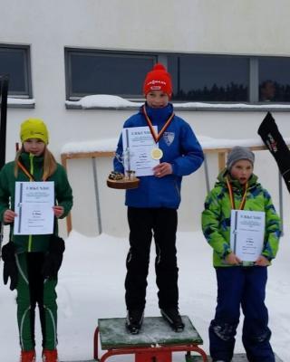 Foto zur Meldung: 26. Thüringer Forstliche Nordische Skimeisterschaften