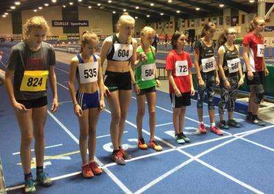Foto zur Meldung: Johanna Baunach gewinnt Silbermedaille bei Nordbayerischen Hallenmeisterschaften