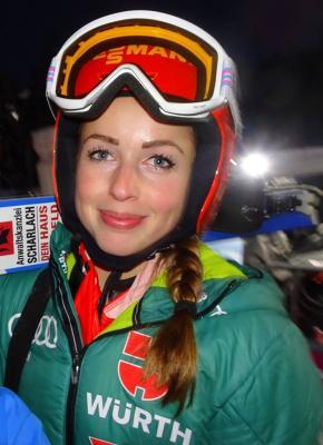 Vorschaubild zur Meldung: Juliane löst Olympia-Ticket