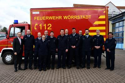 Vorschaubild zur Meldung: +++Kameraden der Feuerwehr Wörrstadt befördert+++
