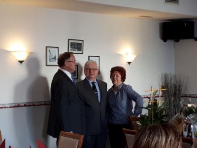 Vorschaubild zur Meldung: Glückwünsche zum 30-jährigen Firmenjubiläum von Malermeister Jürgen Noltsch aus Remse am 11.01.2018