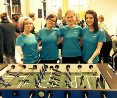 Foto zu Meldung: Spielerinnen der Maintalkicker sogar in der Damen-Bundesliga
