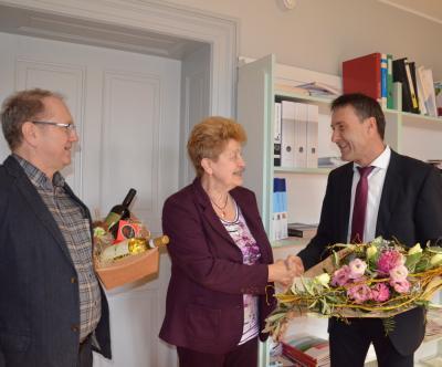 Vorschaubild zur Meldung: Ende einer Ära: Bärbel Wunderlich verlässt Schwesternschule im FamilienCampus Lausitz