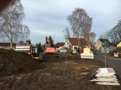 Foto © Karsten Richter - Die Baufeldfreimachung ist bereits erfolgt.