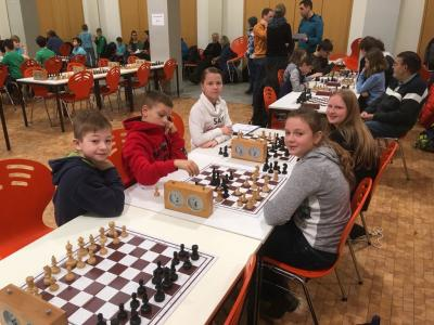 Foto zur Meldung: Erste Teilnahme an Landesschulmeisterschaften im Schach