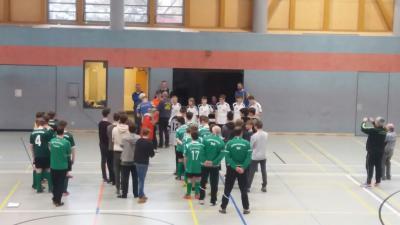 Foto zur Meldung: C-Junioren Dritter beim Hallenturnier in Zittau