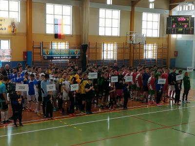 Vorschaubild zur Meldung: Futsal-Turnier in der pol. Patnerstadt Naklo nad Notecia