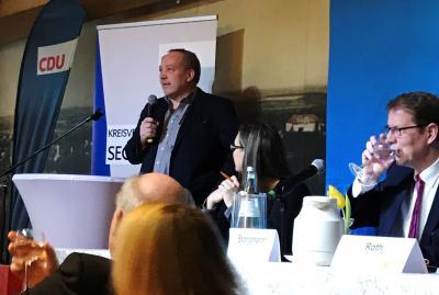 Foto zur Meldung: Bestes Ergebnis für Sönke Siebke – Bestätigung als Direktkandidat für die Wahl zum Segeberger Kreistag