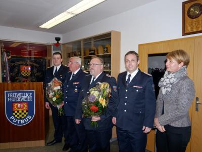 Foto zur Meldung: Übernahme in die Ehrenabteilung