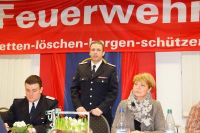 Foto zur Meldung: Jahreshauptversammlung der Freiwilligen Feuerwehr Putbus