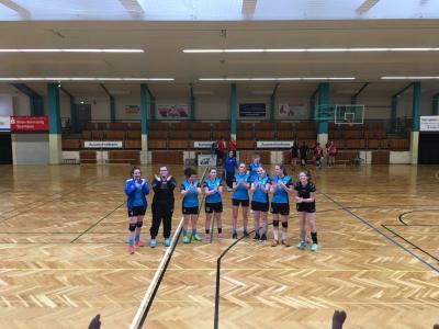 Foto zur Meldung: Handball: Auswärtssieg in Werratal