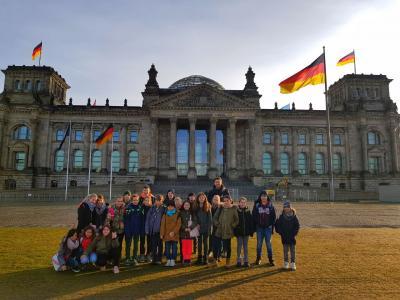 Foto zur Meldung: Besuch des Bundestages - Klasse 5D