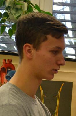 Vorschaubild zur Meldung: Marius Kraußer schaffte die meisten Klimmzüge