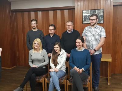 Foto zur Meldung: Neue Vorstandschaft beim ATG