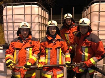 Foto zur Meldung: Neue CSA Träger bei der Feuerwehr Vierkirchen